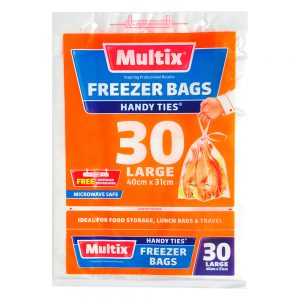 Multix Freezer Bags Large 30 pack