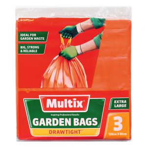 Multix Drawtight Garden Bags 3 pack