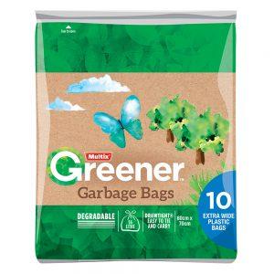 Multix Greener Garbage Bags 10 pack