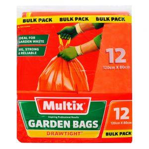 Multix Drawtight Garden Bags 12 pack