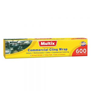 Multix Commercial Cling Wrap 600m x 45cm