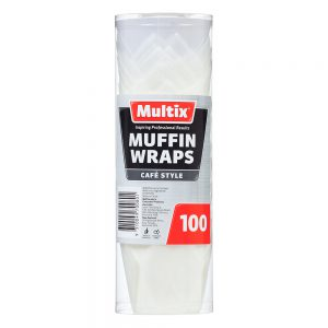 Multix Muffin Wraps 100 pack