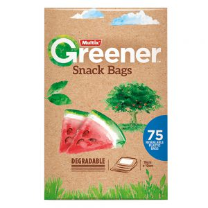Multix Greener Snack Bags 75 pack