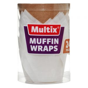 Multix Muffin Wraps 24 Pack