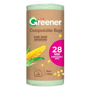 Multix Greener Compostable Bags Mini 28 pack