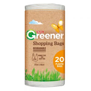 Multix Greener Degradable Shopping Bags Small 20 pack