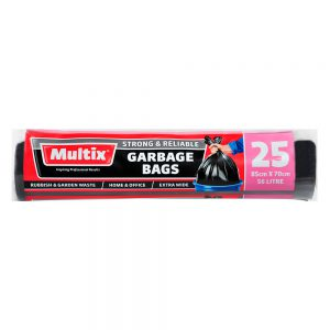 Multix Garbage Bags 25 pack