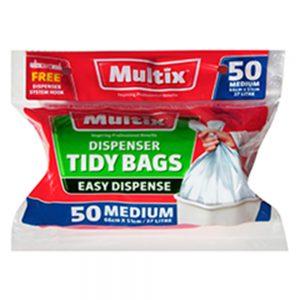 Multix Dispenser Tidy Bags Medium 50 pack