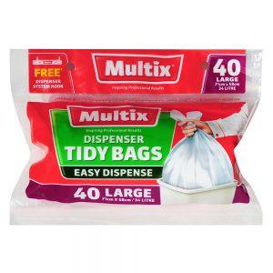 Multix Dispenser Tidy Bags Large 40 pack