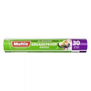 Multix Greaseproof Paper 30m x 30cm
