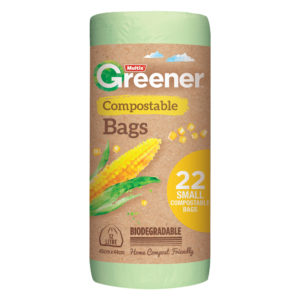 Multix Greener Compostable Bags Small 22 pack
