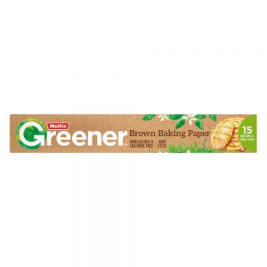 Multix Greener Brown Baking Paper 15m x 30cm