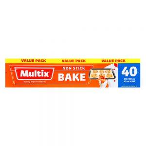 Multix Non Stick Bake 40m x 30cm