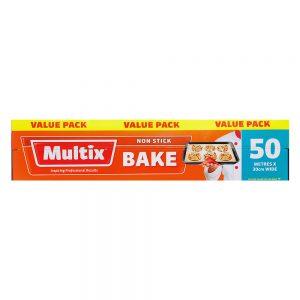 Multix Non Stick Bake 50m x 30cm