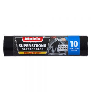 Multix Super Strong Drawtight Garbage Bags 10 pack