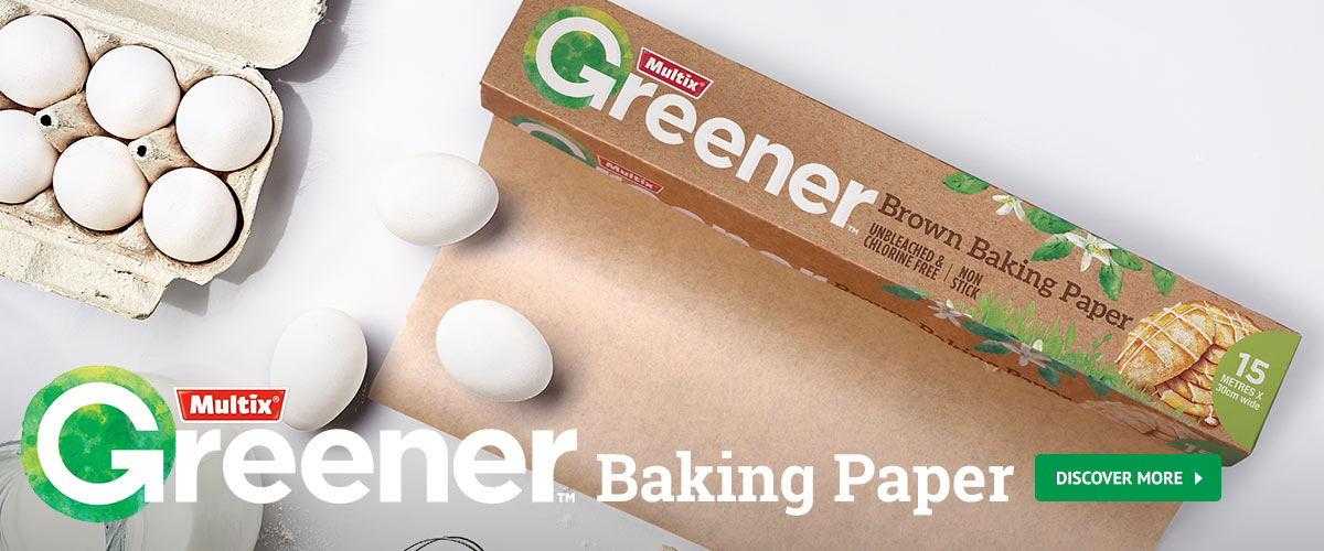 Greener Baking Paper