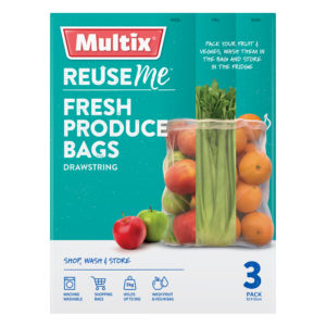 Multix ReuseMe Produce Bags 3 pack