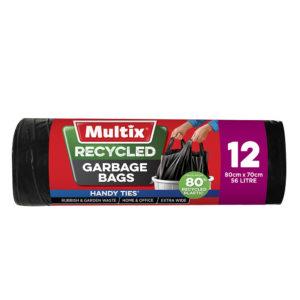 Multix Recycled Garbage Bags 12pk