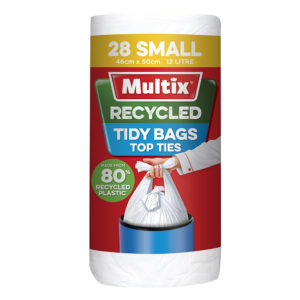 Multix Recycled Kitchen Tidy Bag Small 28pk