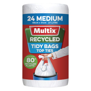 Multix Recycled Kitchen Tidy Bag Medium 24pk