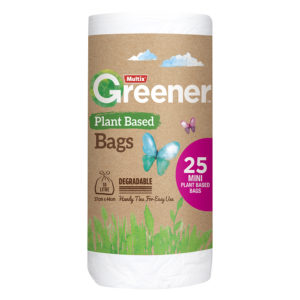Multix Greener Plant Based Degradable Kitchen Tidy Bag Mini 25pk