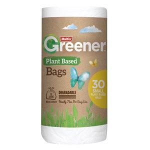 Multix Greener Plant Based Degradable Kitchen Tidy Bag Small 30pk