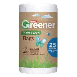 Multix Greener Plant Based Degradable Kitchen Tidy Bag Medium 25pk