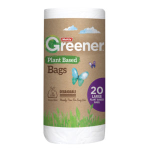 Multix Greener Plant Based Degradable Kitchen Tidy Bag Large 20pk