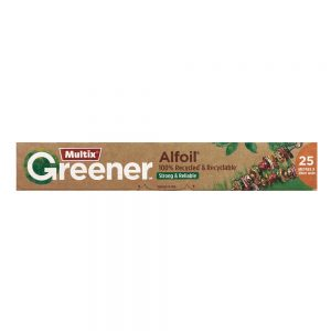 Multix Greener 100% Recycled Alfoil 25m x 30cm