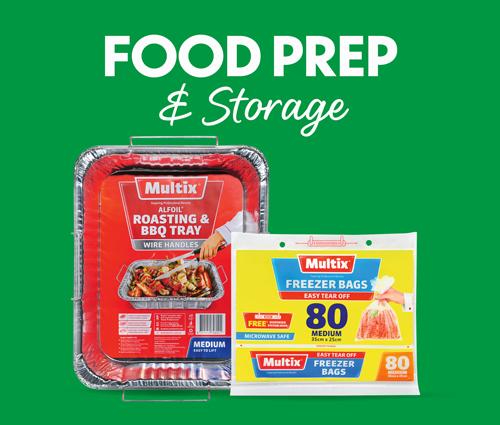 Food Prep & Storage